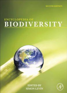 Encyclopedia of Biodiversity  Encyclopedia of Biodiversity, (7 Volume Set)