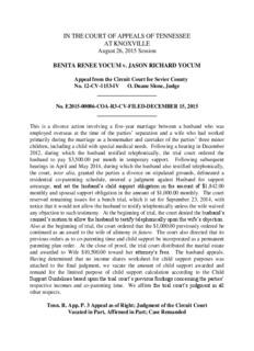 BENITA RENEE YOCUM v. JASON RICHARD YOCUM