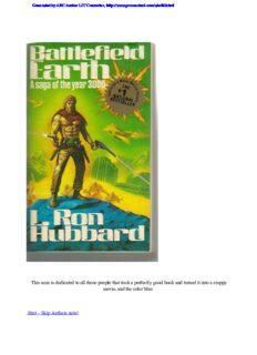 Hubbard, L Ron - Battlefield Earth - complete