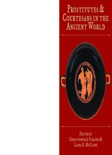Prostitutes & Courtesans in the Ancient World