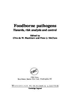 Foodborne Pathogens - Hazards, Risk Analysis and Control