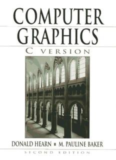 Computer Graphics, C Version (2nd Ed.) - Lia/ufc