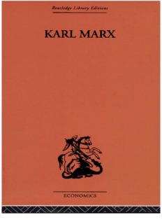 Karl Marx: The Story of His Life