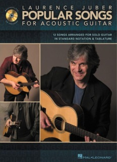 Laurence Juber – Popular songs for acoustic guitar