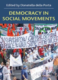 Democracy in Social Movements