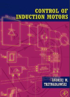 Control of Induction Motors (Electrical and Electronic Engineering) (Engineering)
