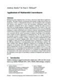 Anthony Baldry* & Paul J. Thibault* Applications of Multimodal Concordances