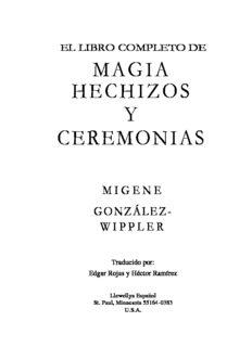 Magia Hechizos Y Ceremonias