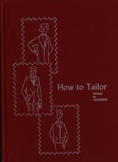 How to tailor; a handbook for home tailoring