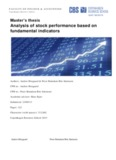 Analysis of stock performance based on fundamental indicators