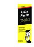 Arabic Phrases For Dummies