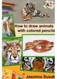 How to draw animals with colored pencils  Learn to draw realistic animals