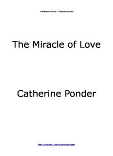 The Miracle of Love Catherine Ponder