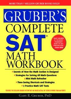 Gruber's Complete SAT Math Workbook