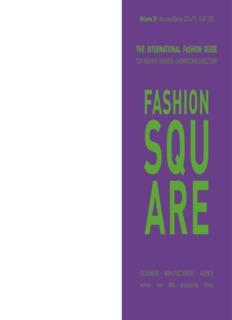the international fashion guide - Fashion Square