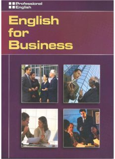 English for Business. Students' Book