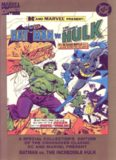 Comics - Batman vs Hulk