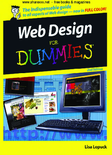 Web Design for Dummies 2nd Edition