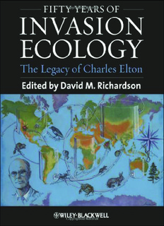 Fifty Years of Invasion Ecology - LEG/UFPR