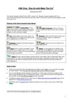 Klic-N-Kut User Manual - Digital Die Cutting With Sandy McCauley