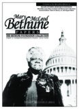 Mary McLeod Bethune Papers, Bethune Foundation Collection, Part 2