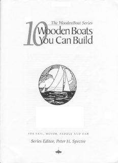 10 Wooden Boats You Can Build: For Sail, Motor, Paddle and Oar