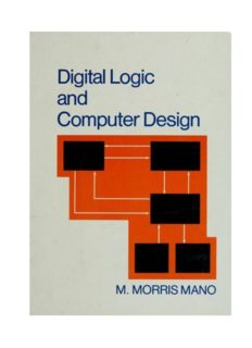 Digital Logic And Computer Design By M. Morris Mano