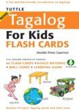 More Tagalog for Kids Flash Cards