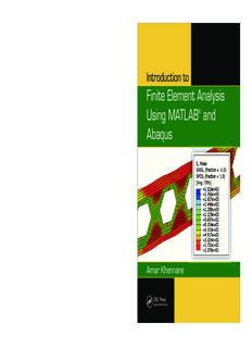Introduction to Finite Element Analysis Using MATLAB - iMechanica