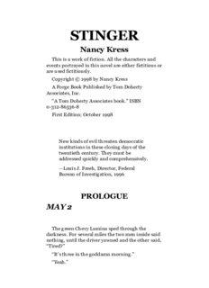 Nancy Kress - Stinger