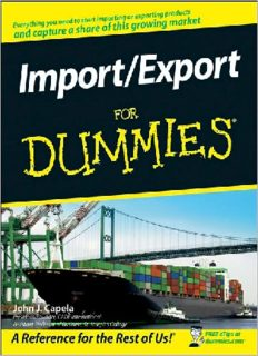 Import Export For Dummies (For Dummies (Business & Personal Finance))