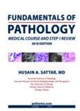 Fundamentals of Pathology (pathoma 2018)