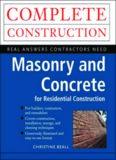 Masonry and Concrete