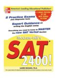 SAT 2400! : A Sneak Preview of the New SAT English Test