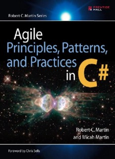 Agile principles, patterns, and practices in C# / Robert C. Martin