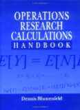 Operations Research Calculations Handbook (Operations Research Series)