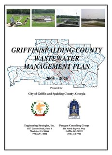 griffin/spalding county wastewater management plan - City of Griffin