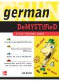 German Demystified: A Self Teaching Guide