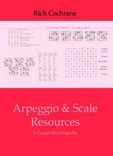 Scale Arpeggio Encyclopedia - Gorseinon Guitar