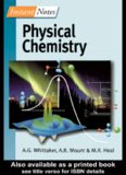 Physical Chemistry – Volume in the Instant Notes Chemistry Series – Bios-Taylor&Francis