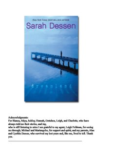 sarah dessen dreamland.pdf