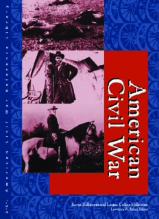 American Civil War: Biographies Edition 1. 2 Volume Set (American Civil War Reference Library)