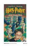 HARRY POTTER und der Stein der Weisen Seite 1 von 1