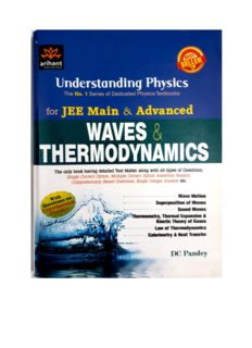 Understanding Physics for JEE Main & Advanced: Waves & Thermodynamics