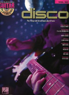 Disco: Guitar Play-Along Volume 53 (Hal Leonard Guitar Play-Along)