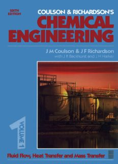 Chemical Engineering Volume 1, Sixth Edition (Coulson and Richardsons Chemical Engineering)