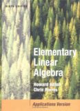 Howard Anton, Chris Rorres Elementary Linear Algebra
