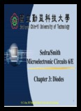 Sedra/Smith Microelectronic Circuits 6/E Chapter 3: Diodes