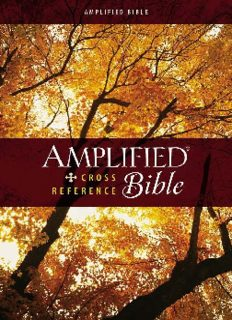 Amplified Cross-Reference Bible (2014)