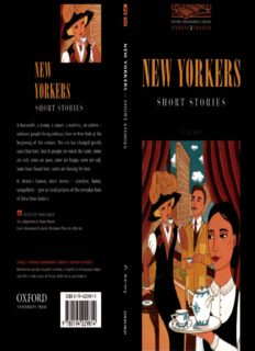 New Yorkers - Short Stories (Oxford Bookworms Library 2)